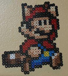 Battant Mario de Super Mario par AryeaCrafts sur Etsy