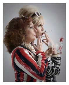Patsy and Edina.
