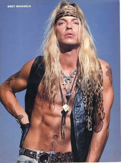 Bret Michaels back in the day!
