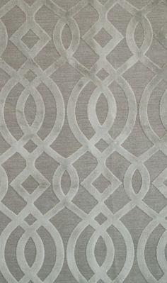 Gray tone on tone velvet wall paper