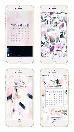 May Designs Blog - Fall Floral Phone + Desktop Wallpaper Downloads