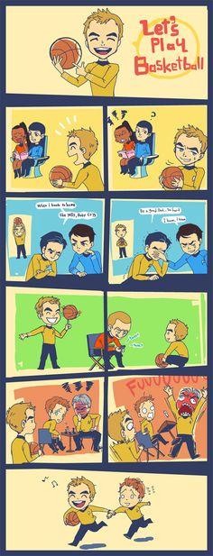 ST_Let's play basketball by simengt.deviantart.com on @deviantART