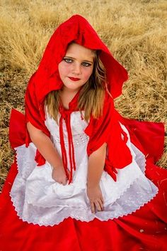 Copyright 2014 Wonderland Photography By Kimberly Walker northern California photographer portraits pose child concept little red riding hood