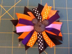 Halloween 1 hair Clip by MeridaMerchandise on Etsy, $4.50 SALE ON ALL BOWS at Merida Merchandise on Etsy. https://www.etsy.com/shop/MeridaMerchandise?section_id=13878367