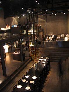restaurants inspiration / branding   Shanghai Shintori Null II Japanese restaurant interior