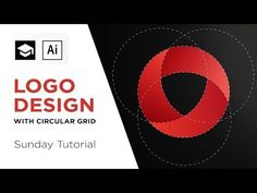 How to design a logo with circular grid | Adobe Illustrator Tutorial - YouTube