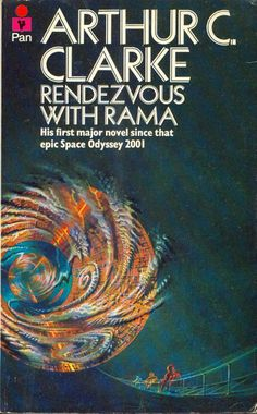 """Rendezvous with Rama - the first sci-fi book I ever read, embarassingly I pronounced it """"Rendesvuss with Rama""""."""