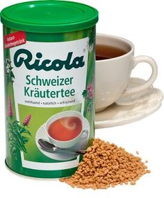 Ricola Instant Tea with Medicinal Herbs   Throat Soothing