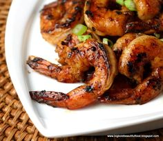 If people chose, they could also take a piece of shrimp from the platter without the slaw and just eat it as a finger food. Description from…