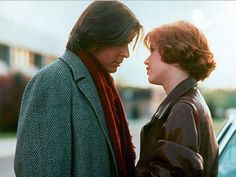 Claire and Bender from the Breakfast Club.