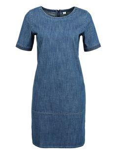 Denim jurk met korte mouwen van s.Oliver. Ontdek en bestel nu online topactuele mode voor dames, heren en kinderen