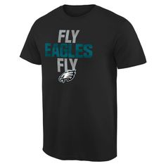 Philadelphia Eagles NFL Pro Line Mantra T-Shirt - Black
