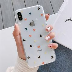 Floral Love Heart Transparent Phone Cases For iPhone X XS Max XR 6 7 8 Plus Case Soft Silicone Anti-Knock Protective Back Case For iPhone – airpod Iphone 10, Iphone 8 Plus, Diy Iphone Case, Coque Iphone 6, Iphone Phone Cases, Iphone Case Covers, Apple Iphone, Iphone Charger, Phone Cover Diy