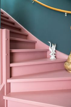 Kardashian Home Interior .Kardashian Home Interior Unique Home Decor, Cheap Home Decor, Foyers, Hallway Designs, Painted Stairs, House Stairs, Stairway To Heaven, Luxury Homes Interior, Home Room Design