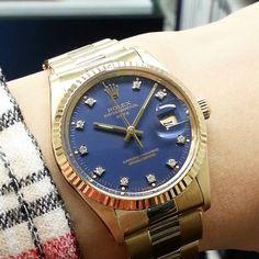 ref. 15037#oysterperpetual #datejust Vintage Rolex, Rolex Datejust, Rolex Watches, Big, Accessories, Ornament