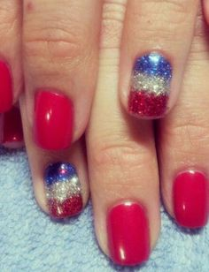 Fourth Of July Manicures To Try From Pinterest   | StyleCaster