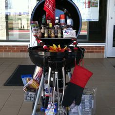 Best charcoal grill smoker combo is perfect if you are a passionate griller. If you're thinking of buying a new grill we have a list of top 10 smoker combos Fundraiser Baskets, Raffle Baskets, Theme Baskets, Themed Gift Baskets, Raffle Prizes, Raffle Ideas, Silent Auction Baskets, Best Charcoal Grill, Bbq Gifts