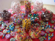 Confira: Decoração de mesa de doces para festa infantil - Criar uma decoração para festa infantil reque