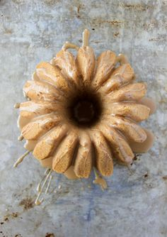 Peanut Butter Bundt Cake with Peanut Butter Drizzle