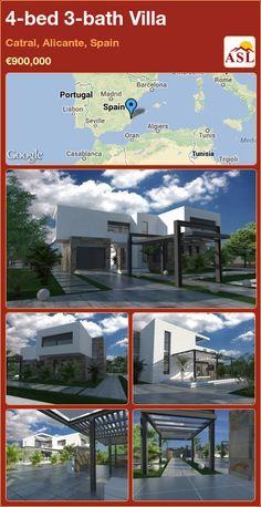 4-bed 3-bath Villa in Catral, Alicante, Spain ►€900,000 #PropertyForSaleInSpain