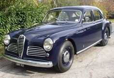 Alfa Romeo 6C 2500 Sport Berlina by Pininfarina (1951)