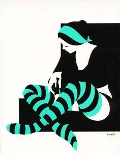 Della Costa | Calze a Riche | striped | color | ram2013