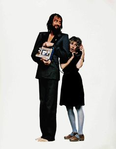 Mick Fleetwood and Stevie Nicks.