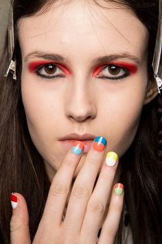 Nail Trends Fall 2015 | Fashion Week  - Au Jour Le Jour Fall 2015