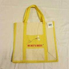 Selling this NWT Burt's Bees Tote Bag in my Poshmark closet! My username is: dlm222. #shopmycloset #poshmark #fashion #shopping #style #forsale #Burt's Bees #Handbags