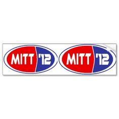 Mitt Romney 2012 Bumper Stickers