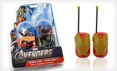 Groupon - Kids' Superhero Walkie-Talkies (Up to 48% Off). Six Options Available. Free Returns. in Online Deal. Groupon deal price: $12.0.00