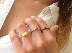 Handmade Jewelry, Rings, Fashion, Moda, Fashion Styles, Fasion, Diy Jewelry, Ring, Handmade Jewellery