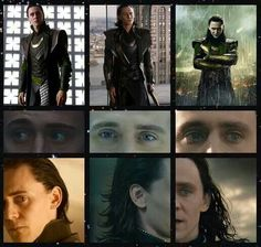 Loki Love ---> I love the transitions of his eyes from innocent, to devious, to morose.