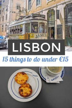 Lisbon, Portugal things to do under 15 Euros | Lisbon Portugal travel - - - #lisbon #portugaltravel