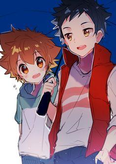 Yamamoto and Tsuna