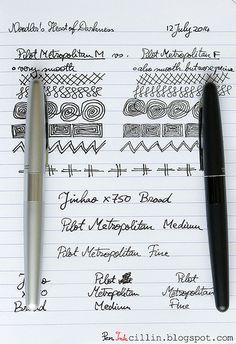 PIlot Metropolitan pen review by Pen Inkcillin