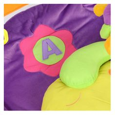 Elephant Alphabet Play Mat with pillow by GOOGLY GOO | FREE SHIPPING