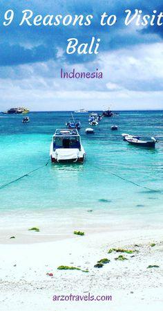 9 reason to visit Bali, Indonesia. Lisa Lembongan