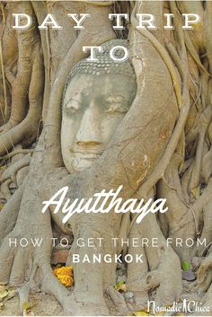 How to go to Ayutthaya from Bangkok THAILAND -The Nomadic Chica : A day trip to the beautiful UNESCO city of Ayutthaya. How to easily get there from Bangkok? Thailand Vacation, Thailand Honeymoon, Thailand Travel Guide, Bangkok Travel, Visit Thailand, Asia Travel, Laos, Thailand Adventure, Koh Tao
