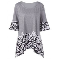 SHARE & Get it FREE | Scoop Neck Printed Plus Size TopFor Fashion Lovers only:80,000+ Items·FREE SHIPPING Join Dresslily: Get YOUR $50 NOW!