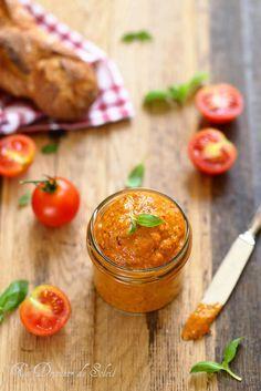 Tartinade de Tomates Confites #recette #salé @ 1 Déjeuner de Soleil