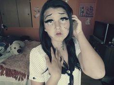 """""""Maquillaje de muñeca diabólica"""""""