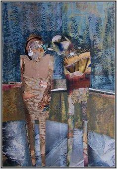 Les Tableaux Collages de Guy Garnier