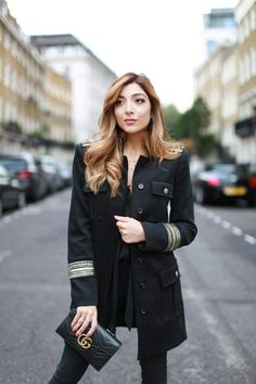 BACK TO BLACK FOR LFW DAY 3