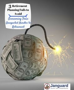 Three of the biggest retirement planning fails you must avoid. Don't risk losing the retirement you deserve by falling for these common traps.