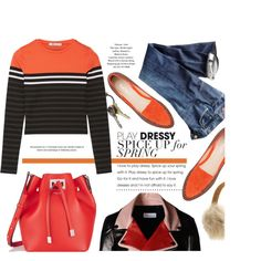 How To Wear Unlock The Orange Outfit Idea 2017 - Fashion Trends Ready To Wear For Plus Size, Curvy Women Over 20, 30, 40, 50