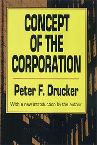 This is the first study ever of the constitution, structure, and internal dynamics of a major business enterprise. Basing his work on a two-year analysis of the company done during the closing years of World War II, Peter F. Drucker looks at the General Motors managerial organization from within. He explains the company's functionality and core principles.