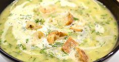 Mennyei Kaporleves recept! A világ egyik legegyszerűbb és legfinomabb levese. Persze csak annak aki szereti a kaprot. Még így decemberben is lehet friss kaprot kapni csokrokba szedve, amiből két darabot véve egész jó kis adag levest lehet készíteni. :) Víz helyett zöldség vagy csontalaplevet használva, még finomabbá tehetjük a levest. Dill Soup Recipe, Soup Recipes, Diet Recipes, Chicken Recipes, Cooking Recipes, Healthy Recipes, Hungarian Cuisine, Hungarian Recipes, Israeli Food