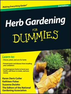 Cover image for Herb Gardening For Dummies