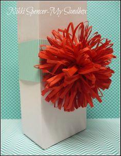My Sandbox: Fringe Scissor Gift Topper!....